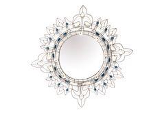 Collection MIROIRS - Miroirs de fil de fer et de perles de Marie Christophe