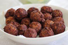 PANELATERAPIA - Blog de Culinária, Gastronomia e Receitas: Almôndega Frita Perfeita