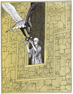 'The Eyes of the Cat' by Moebius Jodorowsky #illustration #comics