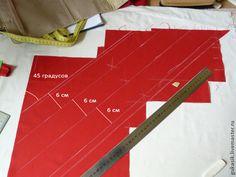Косая бейка – страшный зверь! Делаем легко сложную деталь - Ярмарка Мастеров - ручная работа, handmade
