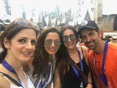 Ex-Couple Hrithik Roshan and Sussanne Khan Reunites with Family Vacation in Orlando Hrithik Roshan, Orlando, Bollywood, Actors, Vacation, Couples, Fashion, Moda, Orlando Florida