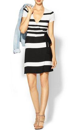 47857c88fc4e05 Bailey 44 dress White Wrap Dress