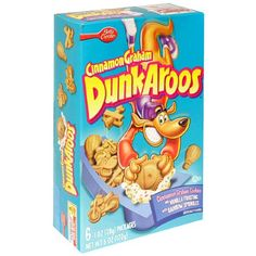 DunkAroos: Cinnamon Graham Cookies with Vanilla Frosting and Rainbow Sprinkles. They were the ish.