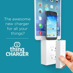 A minimalist charger that doesn't clog outlets or need a cable... I must get one of these!