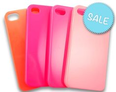 Cute TROPICAL Colours Plain Pastel Coloured #iPhone 4 or 4S Case. #PhoneCase #Phone