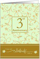 Amazon.com: 3rd Anniversary Invitation Card: Health & Personal Care