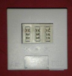 InTiCom-STI - T-DSL Splitter TAE - Dose, Standartausführung, B351001701, weiß