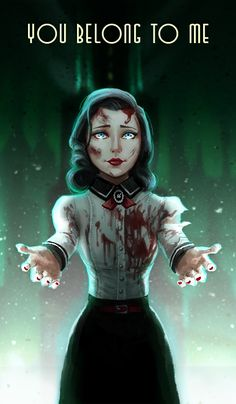 You belong to me by Shaidis on deviantART #Bioshock