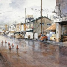 Artist Ian Ramsay Prints Paintings for Sale, Fine Art, Watercolor, Bio and more at New Masters Gallery in Carmel, CA.
