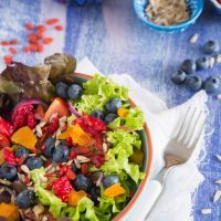 Blueberry & Pomegranate Salad