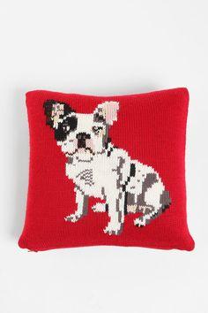 PJ by Peter Jensen French Bulldog Pillow