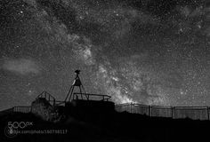 Galaxy Rising  Havelock North New Zealand the galactic centre rising above a trig station.  Camera: DSLR-A380 Lens: DT 18-55mm F3.5-5.6 SAM Focal Length: 26mm Shutter Speed: 20sec Aperture: f/4.5 ISO/Film: 1600  Image credit: http://ift.tt/290PYbo Visit http://ift.tt/1qPHad3 and read how to see the #MilkyWay  #Galaxy #Stars #Nightscape #Astrophotography