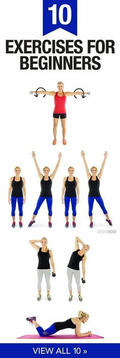 Try these 10 beginner exercises.