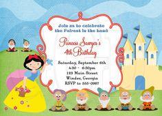 Snow White Inspired Birthday by graciegirldesigns77 on Etsy