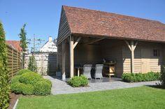 Bijgebouwen on pinterest atelier villas and pool houses for 3d jardin paysagisme