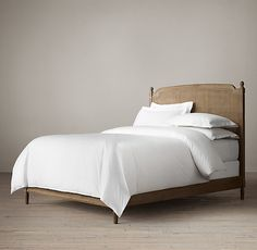 Vienne Caned Bed Without Footboard