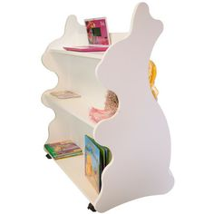 Rabbit Mobile Double Sided Bookcase