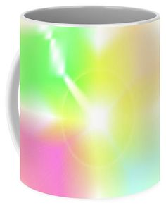 The Digital Abstract Art By Ron Labryzz Coffee Mug featuring the digital art Crux by Ron Labryzz