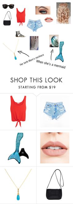 """""""Mermaid book"""" by isabelle-923 on Polyvore featuring Splendid, Jouer, Elizabeth Raine and Max&Co."""