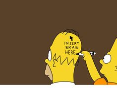 Funny Pic: funny simpsons desktop backgrounds