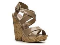 Chinese Laundry Gum Drop Wedge Sandal Sandals $19.94 & Up Shop Women's Clearance - DSW