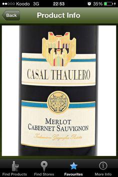 Casal Thaulero Merlot/Cabernet Sauvignon (Italy) - $7.45 750 mL (LCBO # 721953)