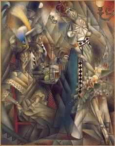 """Danza en un café"" Jean Metzinger(1912)"