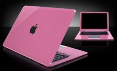 New Apple Laptop in Pink Love, Pretty In Pink, Hot Pink, Apple Mac Laptop, Notebooks, Pink Laptop, Laptops For Sale, Pink Apple, I Believe In Pink