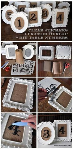 Project: Rustic Vintage Table Numbers on www. Project: Rustic Vintage Table Numbers on www. Project: Rustic Vintage Table Numbers on www. Decoration Chic, Rustic Chic Decor, Rustic Chair, Rustic Furniture, Rustic Signs, Rustic Modern, On Your Wedding Day, Perfect Wedding, Dream Wedding