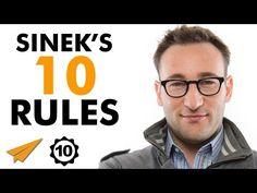 Simon Sinek Top 10 Rules for Success ( Leadership Skill, Effective Leadership, Leadership Development, Personal Development, Simon Sinek, Life Coach Training, Motivational Speeches, Motivational Videos, Learning To Be