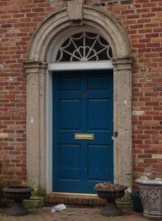 Love this color? Try bermuda blue (2061-30) transom windows, door idea, door design, design door, blue front door colors, front doors, exterior doors, bermuda blue door, door india