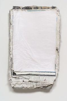 erasing:  © Klara Lidén / Untitled (Poster painting)