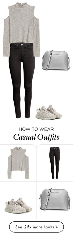 """""""Casual soul"""" by marta-isabella on Polyvore featuring adidas Originals, H&M and MICHAEL Michael Kors"""