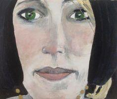 Marlies Kamping 20 x 24 € 286  Art, Dutch, gallery, portrait, woman