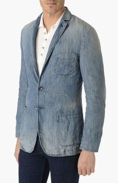 7 for all mankind Blazer Navy