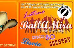"""BallAMira e… state in piazza 2016 (Mira-VE)  Dal giorno Venerdì 17 Giugno 2016 al giorno Venerdì 15 Luglio 2016 si terrà presso Piazza Nove Martiri, Municipio (Mira-VE) l'evento: """"BallAMira e… state in piazza 2016 (Mira-VE)""""  Hashtag Ufficiali:  #BallAMiraestateinpiazza , #BAM , #AssociazioneCulturaleMirAttiva , #DoliwoodShow , #Ballo , #Tornado , #Mira e #EventiMiraeGambarare  Altre informazioni su: http://eventimiraegambarare.altervista.org/ballamira-e-state-piazza-2016-mira-ve/"""