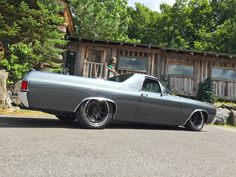 "Eric Bolly's ""Blessed Persistence"" '71 El Camino is powered by a 650HP 540ci Nelson Racing Engines big block and rides on RideTech air suspension, Wilwood Disc Brakes, and Pirelli tires on Forgeline RB3C wheels."