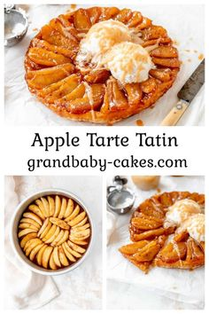 This Classic Apple Tarte Tatin starts with slow-cooked, caramelized apples that are baked into a flaky, buttery puff then topped with a wonderfully spiced Baileys Apple Pie liqueur cream sauce. This Apple Tarte Tartin is a dessert that really sings Fall flavor praises! Best Dessert Recipes, Apple Recipes, Fun Desserts, Easy Dinner Recipes, Fall Recipes, Delicious Desserts, Breakfast Recipes, Breakfast Ideas, Yummy Recipes