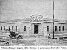 Conservatorio Nacional de Música. Guatemala 1922