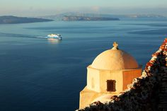 MORNING BOAT... - Santorini, Kyklades