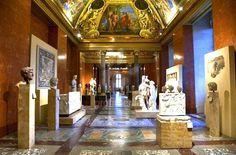 Giovanni Francesco Romanelli, 1655-57, Fresco, Anne of Austria's summer apartment, Louvre, Paris, France