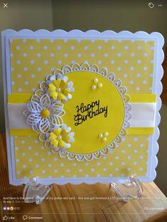 Cricut Cards Birthday Happy Handmade Bday Greeting Pretty Cute