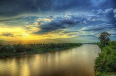 Rivière Sekong, Laos