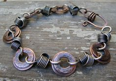 copper washers for jewelry   ... washers and texturized the smaller washer to add contrast. The washers