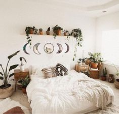 This item is unavailable Bohemian Wall Decor, Bohemian Interior Design, Interior Design Tips, Moon Mirror, Mirror Set, Feng Shui, 3d Home, Nature Decor, My New Room
