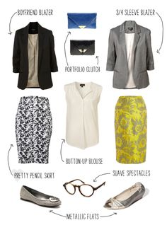 Fun combinations for office attire