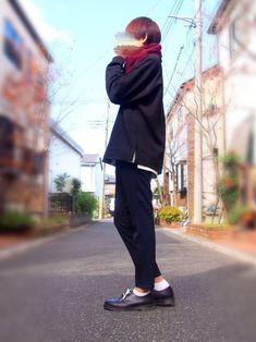 ノーカラージャケットが欲しくなってきた🙃 《size》 ・top 「XL」 ・i Normcore, Suits, How To Wear, Tops, Style, Fashion, Swag, Moda, Fashion Styles