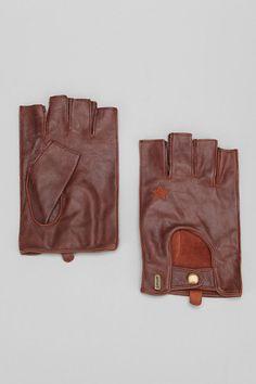 Schott Fingerless Leather Glove