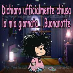 Bellissime immagini Buonanotte da condividere con Mafalda Good Night Quotes, Good Morning Good Night, Love Me Quotes, Day For Night, Good Night Greetings, Italian Quotes, Great Words, Say Hello, Vignettes