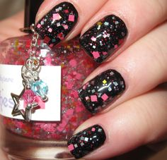 Don't Be Such a Square glitter nail polish 15 by TheLadyVarnishes